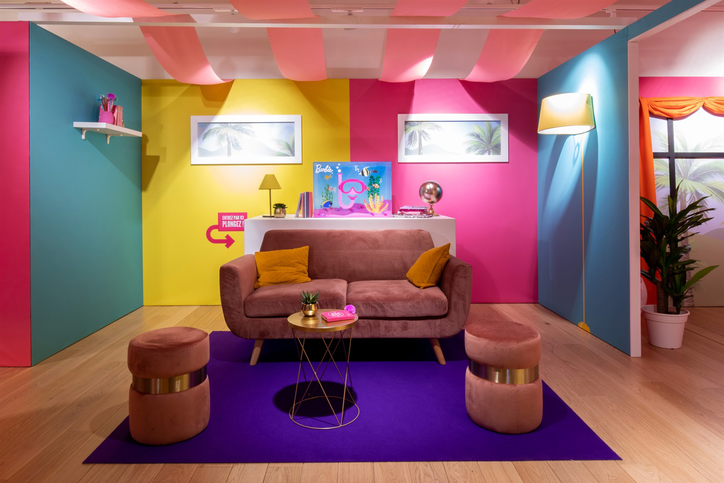Apre Il Barbie Pop Up Store Alle Galeries Lafayette Di Parigi Popuppens